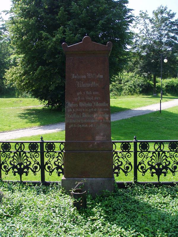 Pomnik grobu rodziny Klawitterów