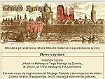 Gdańsk na starych rycinach