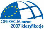Logo Operacja 2007 - nowe klasyfikacje
