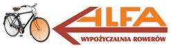 Logo Alfa wypożyczalnia rowerów