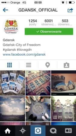 Instagram Miasto Gdańsk