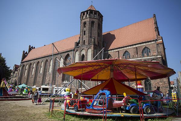 Gotycki kościół św. Mikołaja w Gdańsku - w tym miejscu dominikanie prowadzą swą posługę od XIII w.