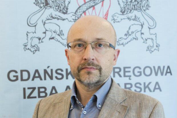Paweł Chrzan prezes Okręgowej Izby Aptekarskiej w Gdańsku