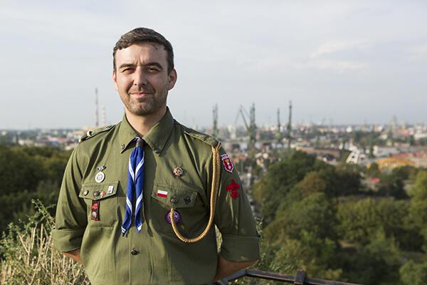 Harcmistrz Artur Glebko: – To nie harcerze będą gospodarzami zlotu, tylko Polska.