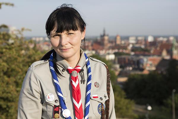 Harcmistrzyni Małgorzata Sinica: – Skauci wracają z Jamboree, mając przyjaciół z całego świata.