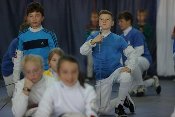 Zespół Kształcenia Podstawowego i Gimnazjalnego nr 26 w Gdańsku. Czy wśród tych dzieci są przyszli mistrzowie?
