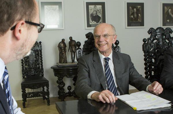 Christian Weber we wrześniu był gościem prezydenta Gdańska Pawła Adamowicza.