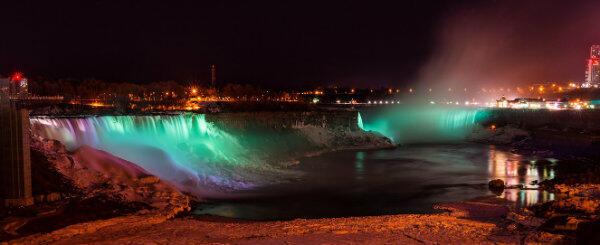 ... wodospad Niagara w USA...