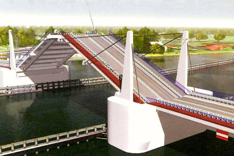 Tak może wyglądać stały most, który za trzy lata połączy Wyspę Sobieszewską z lądem.