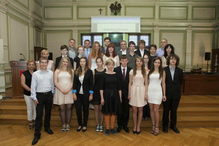 Ostatnia XV sesja Młodzieżowej Rady Miasta Gdańska w kadencji 2013-2015 odbyła się w czerwcu.