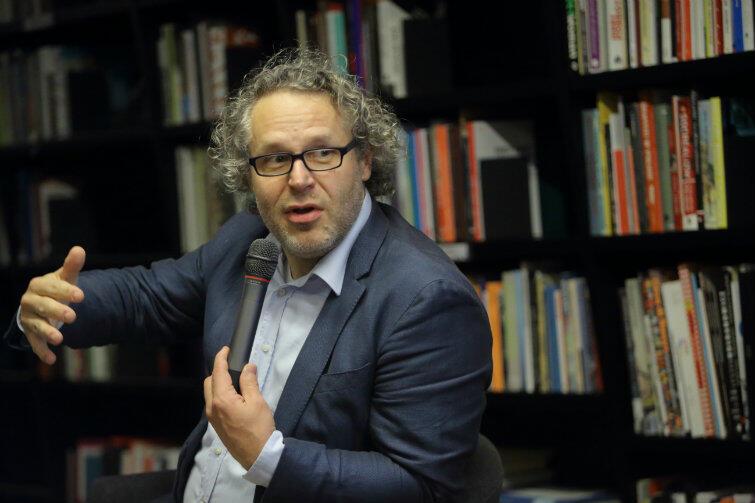 Jacek Friedrich, autor książki o powojennej odbudowie Gdańska.