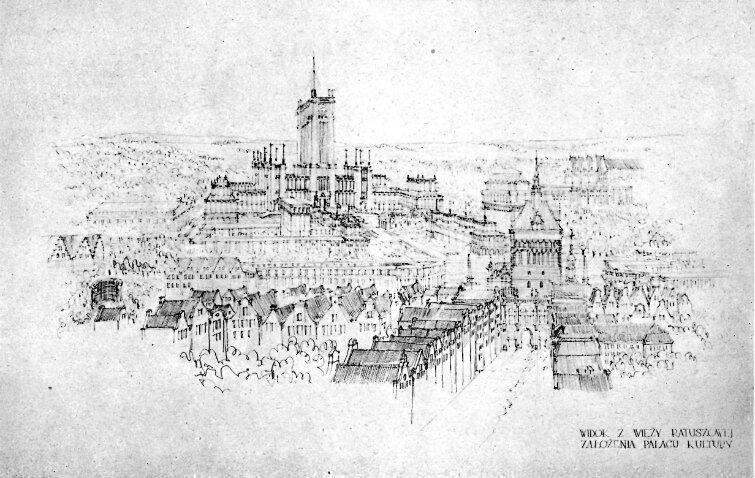 Niewiele brakowało, by powojenny Gdańsk miał nie tylko zrekonstruowaną starówkę, ale i sowiecki wieżowiec, podobny do Pałacu Kultury i Nauki w Warszawie.
