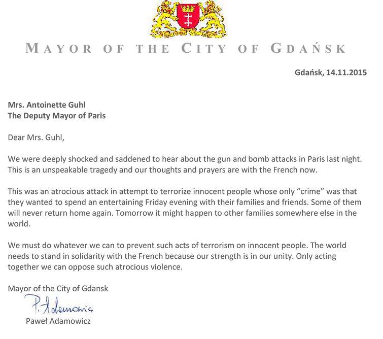 Mrs. Antoinette Guhl The Deputy Mayor of Paris