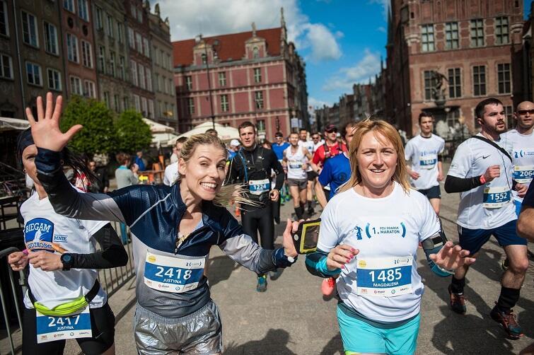 Trasa maratonu biegnie przez najciekawsze miejsca Gdańska