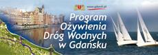 Program ożywienia dróg wodnych w Gdańsku