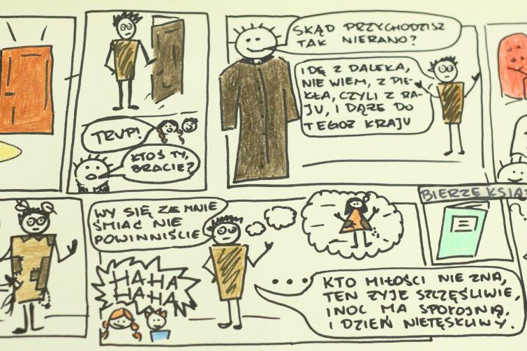 """Jak zachęcić do zgłębienia """"Dziadów""""? Narysować komiks!"""