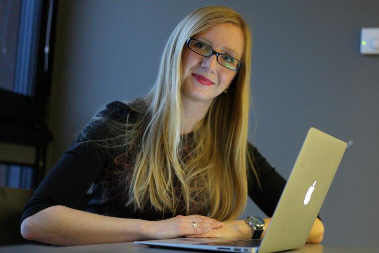 Małgorzata Solowska w nauczaniu angielskiego wykorzystuje... telefony komórkowe.