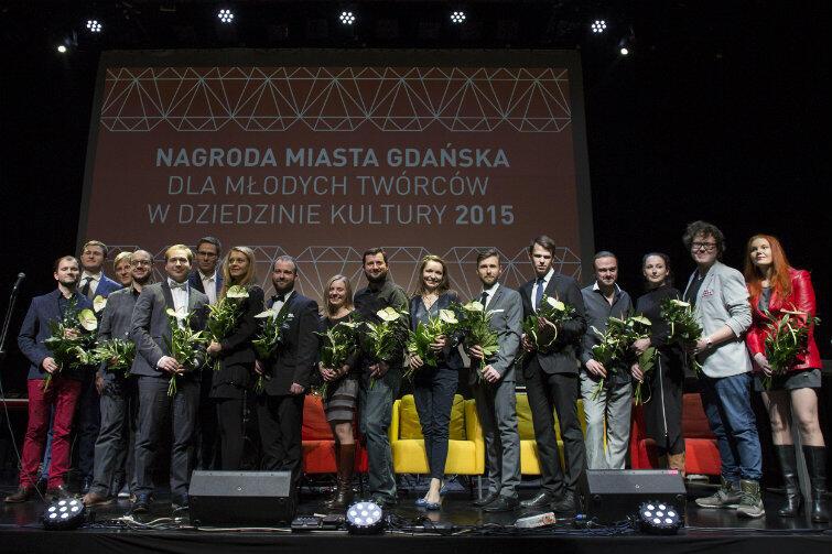 Do nagrody nominowanych było 19 młodych utalentowanych ludzi. Szkoda, że laureatów mogło być tylko troje...