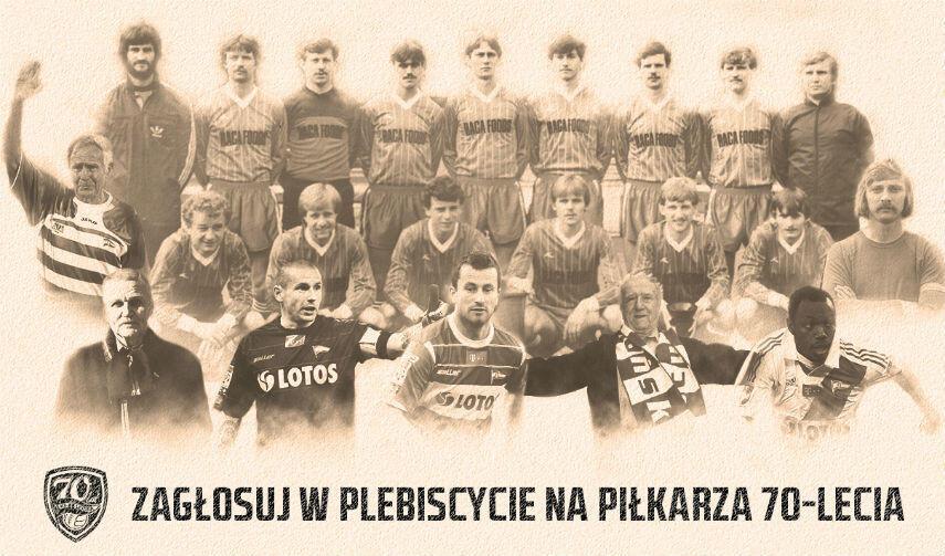 Wybór najpopularniejszych dziesięciu piłkarzy Lechii w historii należy do internautów.