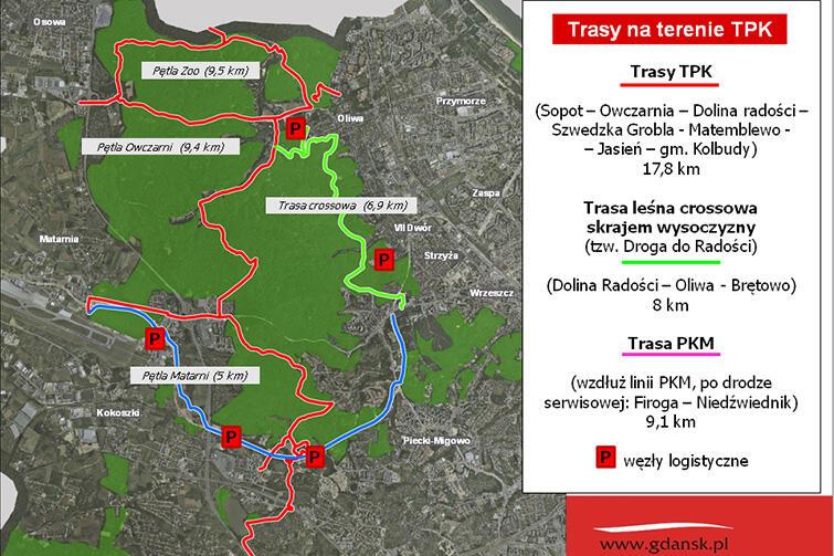 W Trójmiejskim Parku Krajobrazowym nie zabraknie bardzo trudnych tras.