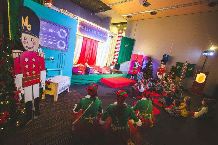 W Fabryce Elfów mogą dziać się dziwne i zagadkowe rzeczy...