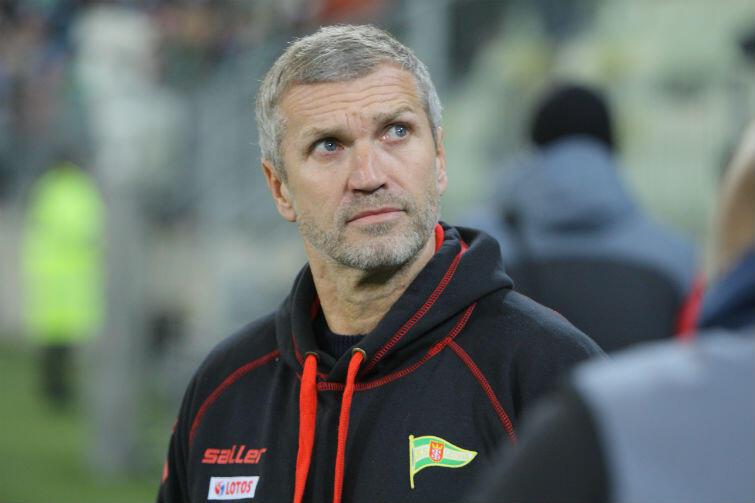 Thomas von Heesen był trenerem Lechii Gdańsk od 1 września 2015 roku.