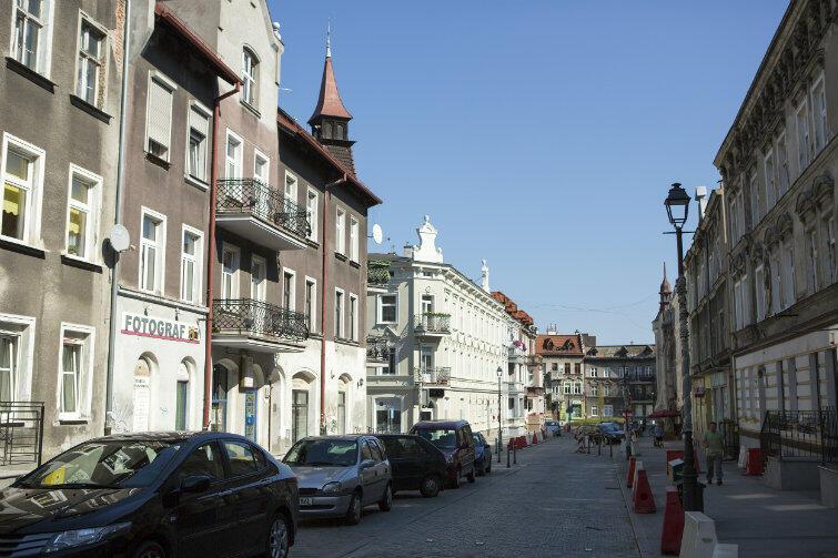 Ulica Wajdeloty we Wrzeszczu – przykład bardzo udanej rewitalizacji.