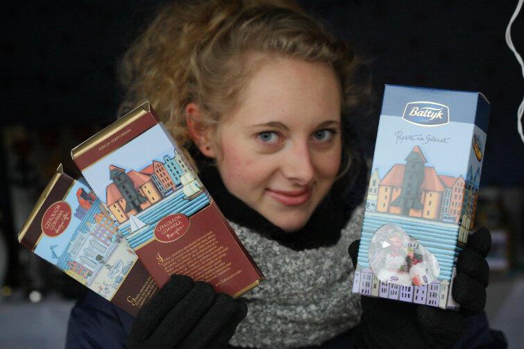 Gdańskie słodycze można kupić m.in. na Jarmarku Bożonarodzeniowym, na stoisku nr 25.