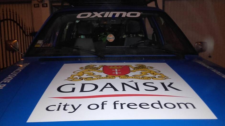 Peugeot 505 już w Budapeszcie.
