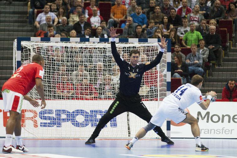 Niklas Landin, duński bramkarz, został uznany najlepszym zawodnikiem meczu Dania - Rosja