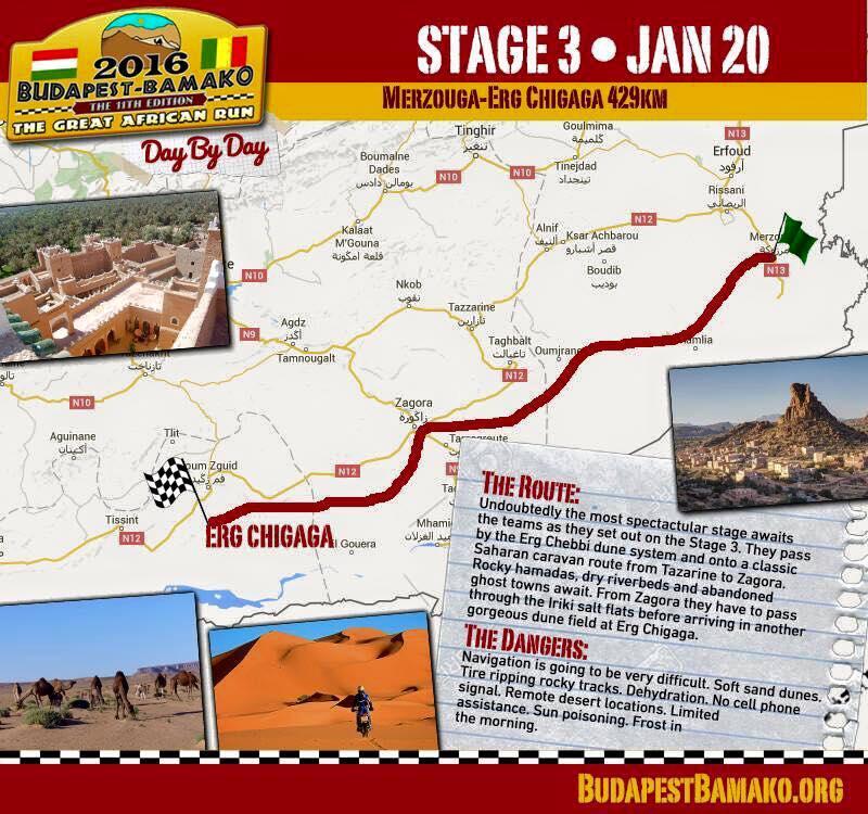 Trzeci etap: Merzouga-Erg Chigaga