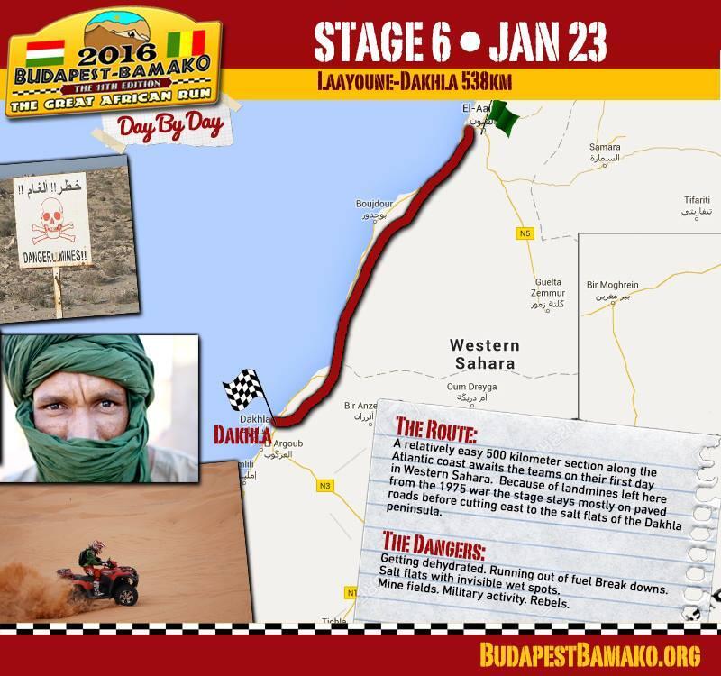 Szósty etap: Laayoune-Dakhla