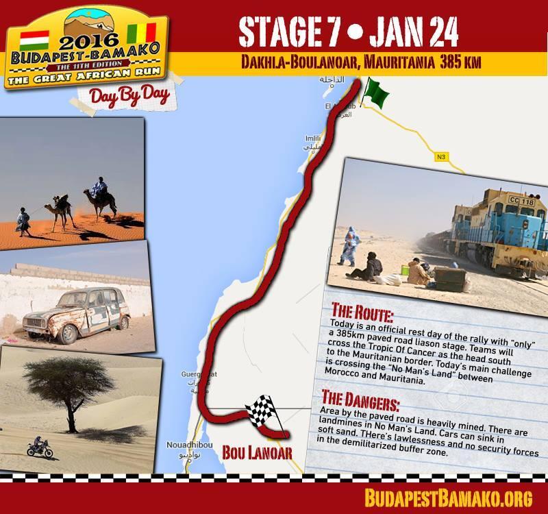 Siódmy etap: Dakhla-Baulanda