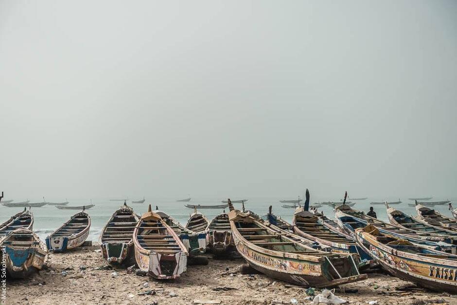 Afrykańskie łodzie