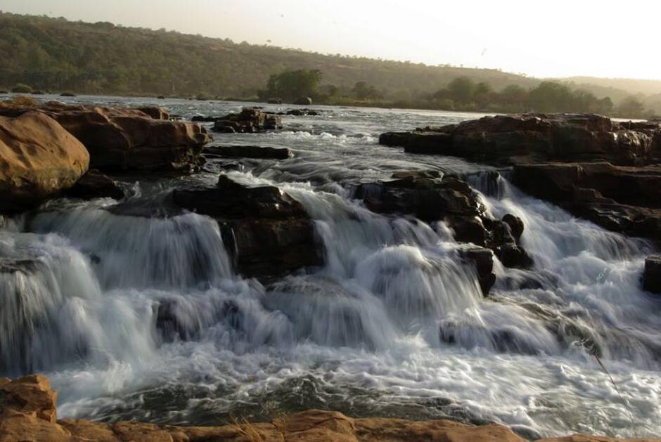 Wodospad Gouina Falls