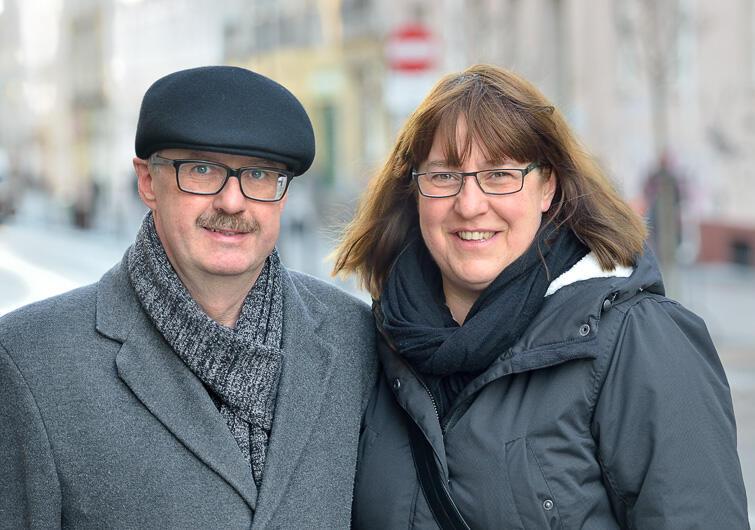 Katarzyna i Jakub Szczepańscy.