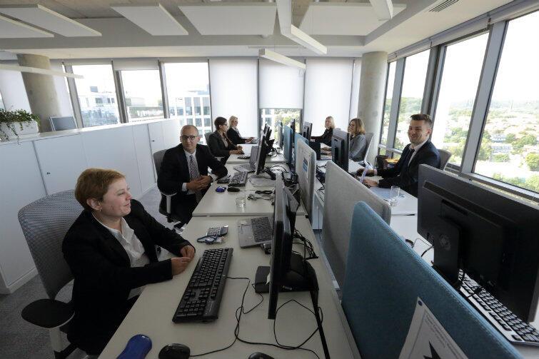 Biuro globalnego centrum usług wspólnych ThyssenKrupp w Gdańsku. - W usługach biznesowych czeka ciekawa praca - przekonują organizatorzy Akademii ABSL.