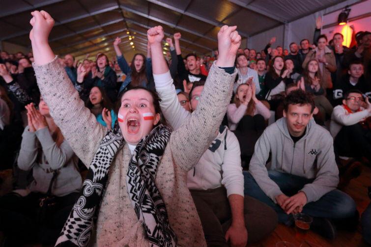 Strefy kibica w czterech miastach gospodarzach odwiedziło łącznie ponad 100 tysięcy osób