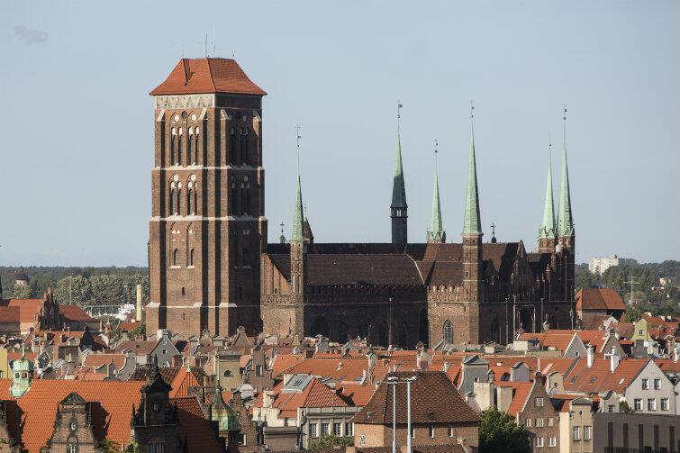 W lipcu młodzi pielgrzymi z pewnością odwiedzą także Gdańsk i Bazylikę Mariacką.
