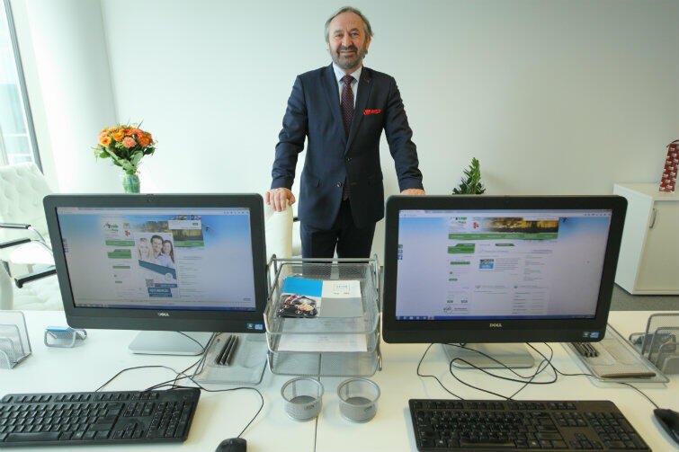 Roland Budnik, dyrektor Powiatowego Urzędu Pracy w Gdańsku, chce, by urząd był bliżej biznesu.