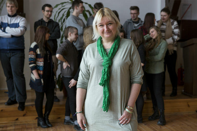 Beata Bohdziewicz-Sulecka kieruje teatrem od samego początku