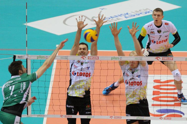 MVP meczu został Damian Schulz (pierwszy z prawej)