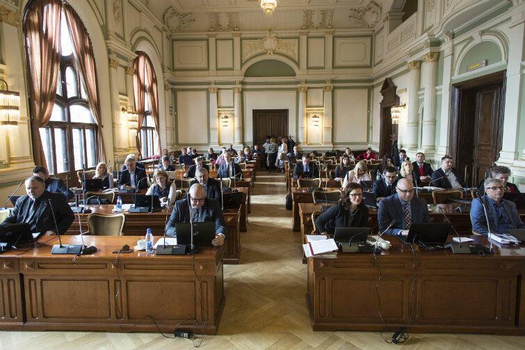 XXI sesja Rady Miasta Gdańska.