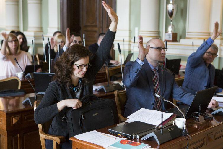 Radni zajęli się tym razem głównie sprawami finansowymi.
