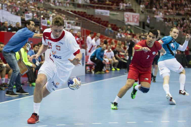 Michał Szyba - MVP meczu z Chile