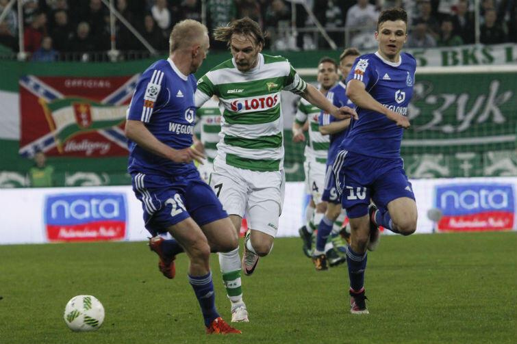 Po zwycięstwie nad Ruchem, biało-zieloni byli pewni gry w grupie mistrzowskiej