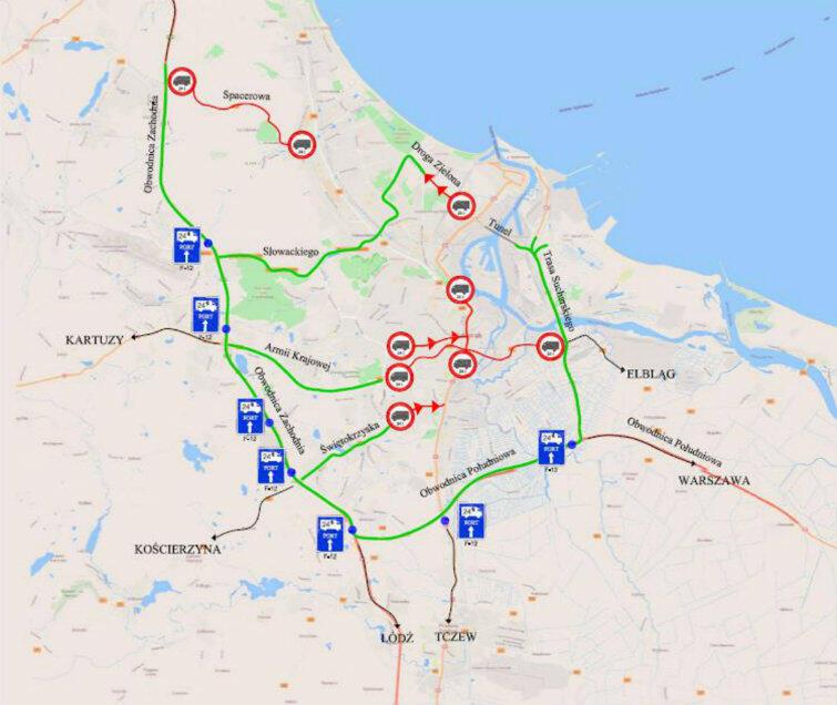 - Wprowadzenie nowych zasad ruchu ciężarówek może ograniczyć strumień samochodów na Podwalu Przedmiejskim nawet o 25-30 procent - poinformował Piotr Grzelak, zastępca prezydenta Gdańska.