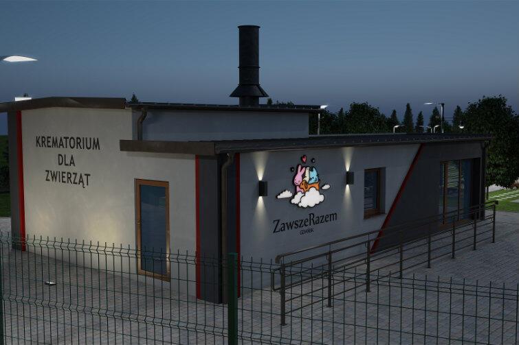Nekropolia dysponuje własną chłodnią i krematorium.