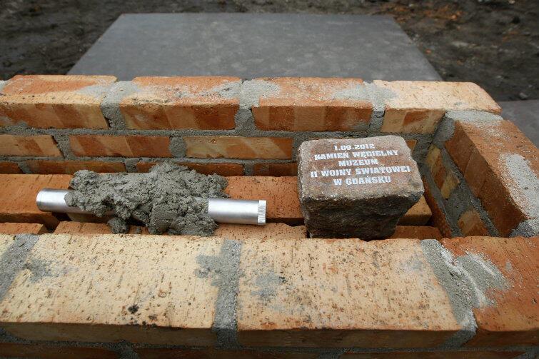 1 września 2012 r. Wmurowano kamień węgielny.