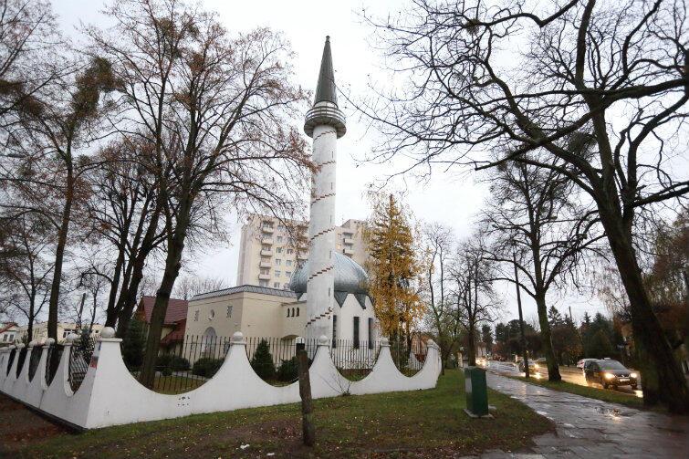 Meczet w Oliwie. W tej świątyni modlą się gdańszczanie wyznający islam.